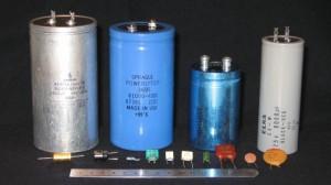 Capacitors for industrial electronic repair