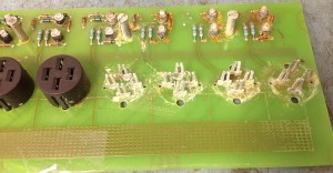 Bosch circuit board with water damage